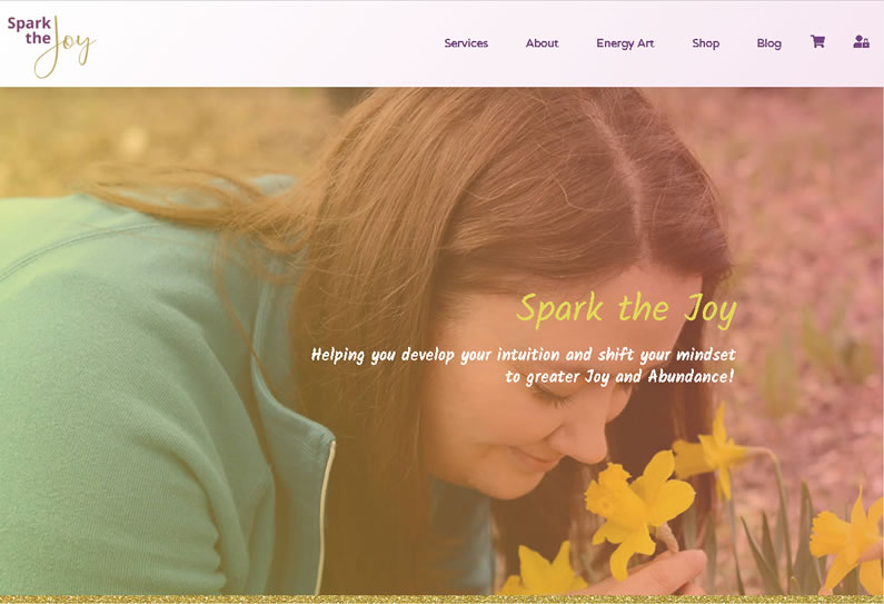 Spark the Joy - WordPress Website Development