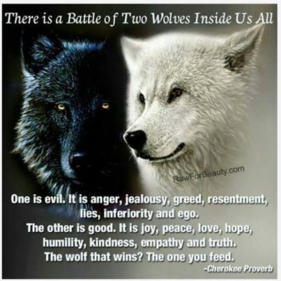 Wolves Proverb