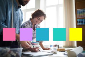 Allison helps you create your 5-color branding palette