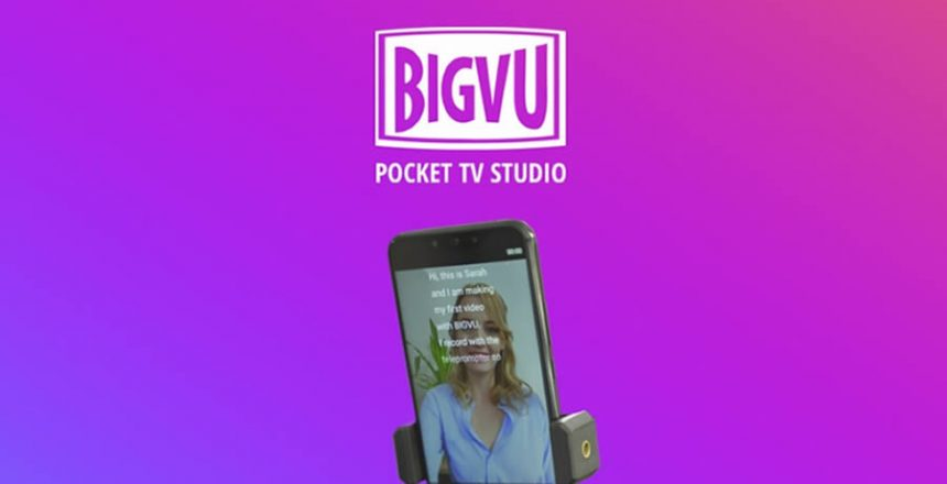 Blog post about BigVU Pocket TV Studio
